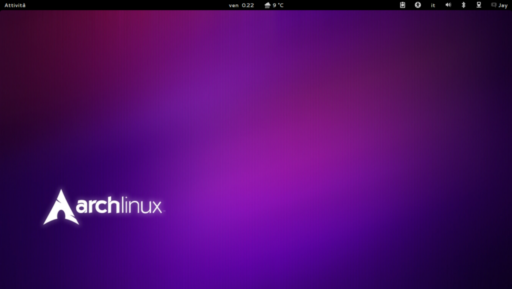 Arch Linux - Gnome